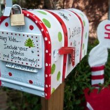 17 santa mailbox
